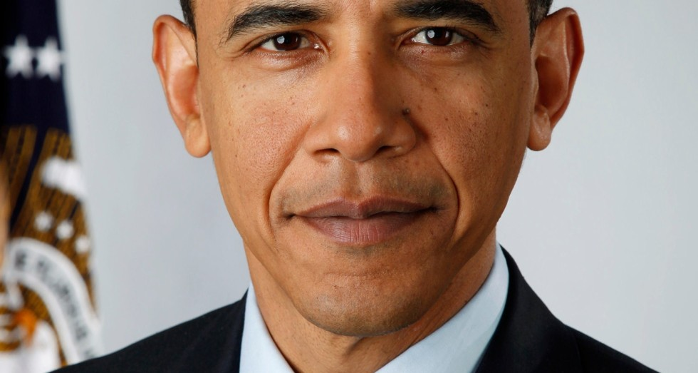 Obama fotograferad med Canon 5D MarkII