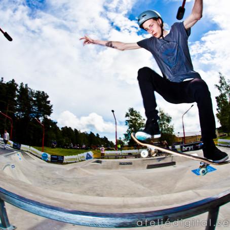 Betongcupen - Stor skateboard tävling Actionparken Tibro
