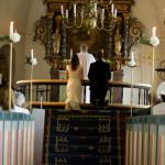 Vigsel - brudparet säger ja till varandra