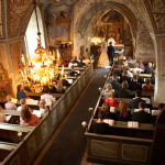 Den vackra kyrkan i Kungslena