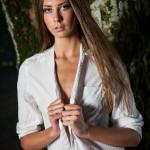 Modellfotografering med vackra Emelie Stjärnås från Top Model Sverige 2013