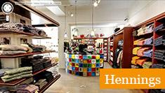 Google Företagsfoton - exempel Hennings kläder i Skövde