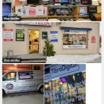 Syns bättre på Google - Tibro TV Service foton mobilsida