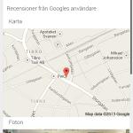 Syns bättre på Google - Tibro TV Service karta mobilsida
