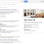 Syns bättre på Google - Ejes Väskor SERP