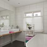 Vackert renoverat badrum - interiör