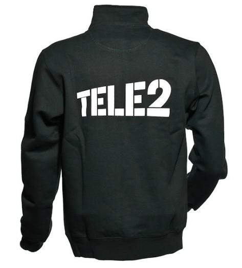 Tröja - svart | Tele 2 | Roterande Produktfoto 360