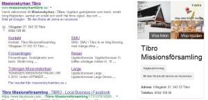 Missionskyrkan Tibro sökresultat - google företagsfoto