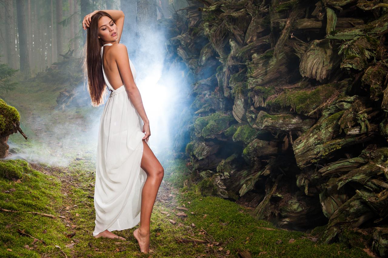 Modellfotografering Paulina Blåder